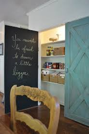 duck egg blue chalk paint kitchen cabinets chalkboard pantry doors cottage kitchen sloan