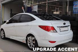 hyundai accent 2011 hyundai accent 2011 rear lip spoiler buy accent 2011 car