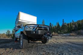 pop up cer toyota tacoma toyota tacoma pop up truck cer winch bumper truck cer hq