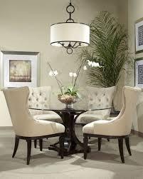 Round Dining Table Set Innards Interior - Black round dining room table
