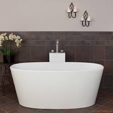 easy installation of freestanding tub with deck mount faucet