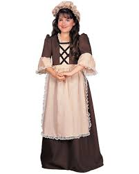 Halloween Costumes Kid Girls Colonial Child Halloween Costume Walmart