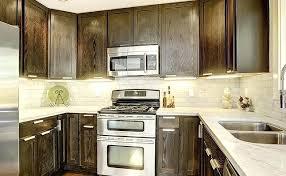 white backsplash dark cabinets backsplash tiles for dark cabinets theminamlodge com