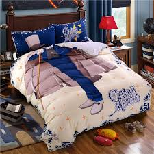 gentleman cotton duvet cover boy room bedding sets boys bedding