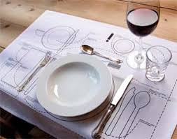 table setting placemat setting placemat guide