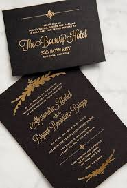 black and gold wedding invitations gold wedding invitation paper gold 2079242 weddbook
