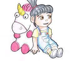 despicable me unicorn clipart clipartxtras