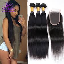the best sew in human hair best virgin hair companies brazilian virgin straight hair 3