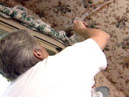 painting wallpaper video hgtv