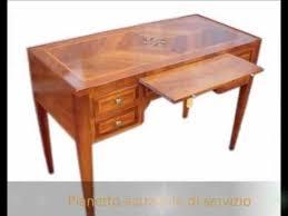 scrivania stile impero scrittoio scrivania classica stile impero con pianetto estraibile