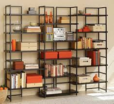furniture home wood and metal 4 tier 67 etagere bookcase design