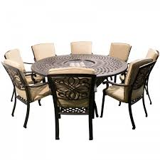 8 Seater Patio Table And Chairs 8 Seat Pit Set For The Patio Garden Pinterest