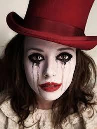 love her make up for a killer clown halloween ideas