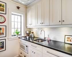 subway tile backsplash in kitchen white subway tile in kitchen delightful on kitchen with white