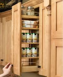 Kitchen Cabinet Spice Rack Slide Cabinets U0026 Drawer Spice Racks Slide Out Spice Racks For Kitchen