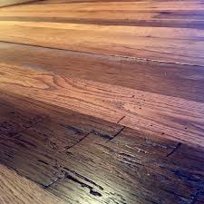 Bona Gloss Floor Finish by Reclaimed White And Red Oak Mix Finished With Bona Dts Sealer And