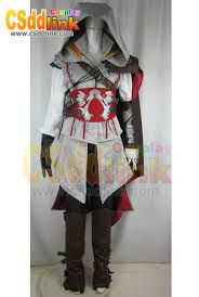 Ezio Halloween Costume Assassin U0027s Creed 2 Ii Ezio Cosplay Costume Male Csddlink