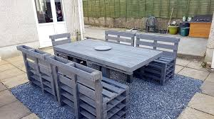 Palet Patio How To Organize A Patio With Pallets