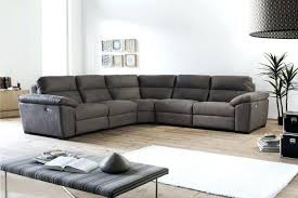 Sofa Recliner Bed Wondrous Reclining Leather Corner Sofa Picture Gradfly Co