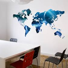 World Map Wall Sticker by Popular Map Decals Buy Cheap Map Decals Lots From China Map Decals
