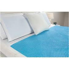 fresh foam comfort revolution hydraluxe cooling gel pad blue
