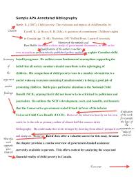 sample apa annotated bibliography fle ideas pinterest