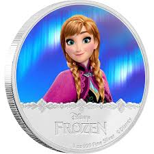 disney frozen silver coin elsa zealand mint