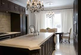 gray walls with stained kitchen cabinets chocolate brown cabinets transitional kitchen toronto