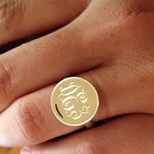 monogram ring gold x354 q80 jpg 354 354 pixels signet rings ring