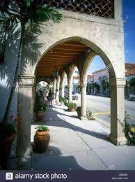 mediterranean style shopping arcade worth avenue palm beach