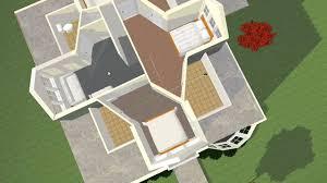 bungalow floor plan rendered in 3d youtube