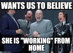 Working From Home Meme - doctor evil laugh memes on memegen