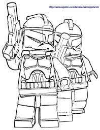 free lego star wars coloring pages printable the white stormtroopers in lego star wars free coloring sheets