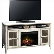 electric fireplace tv stand with glass embers nomadictrade