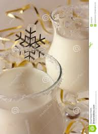 winter cocktail at a christmas party royalty free stock