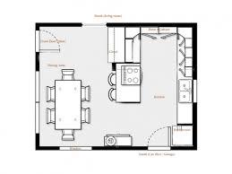 Open Kitchen Floor Plans With Islands Kitchen Inspiring Kitchen Floor Plans For Galley Kitchen Floor