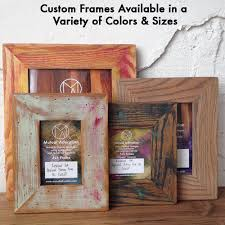 Dark Oak Wood Furniture 5x5 Picture Frame Reclaimed Wood Frame Square Photo Frame