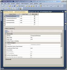 Alter Table Change Data Type Sql Server Microsoft Sql Server Lesson 05 Introduction To The Columns Of A