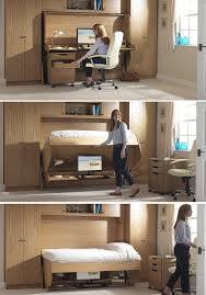 Office Desk Bed Bed Desk Combos Save Space And Add Interest To Small Rooms