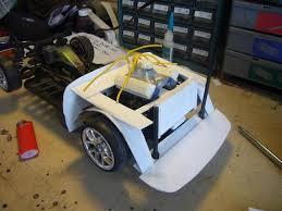 tamiya subaru brat body drift car build off subaru