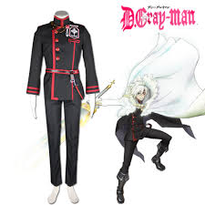 Exorcist Halloween Costume Aliexpress Buy Gray Man Season 2 Allen Walker Cosplay