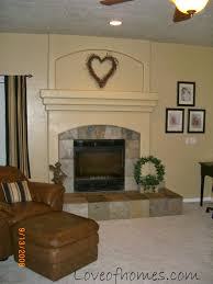 Fireplace Wall Decor by Love Of Homes Fireplace Reveal