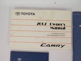 amazon com 2007 toyota camry owner u0027s manual toyota motor co