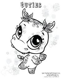littlest pet shop coloring pages preschoolers print free
