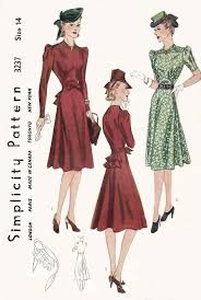 12 best 1940 u0027s daywear images on pinterest vintage fashion