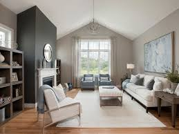 Gray Accent Wall by Remarkable Gray Living Room Decor Living Room Gray Walls Modern