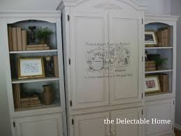 the delectable home chalk paint armoire broyhill fontana be
