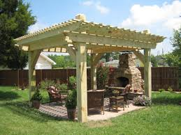 Gazebo Fire Pit Ideas by Admirable Fire Pit Btr Homes Outdoor Covered Gazebo For Free