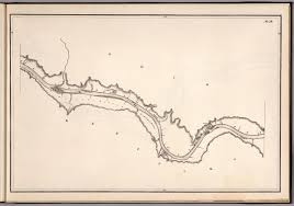 Ohio Rivers Map by 1881 Ohio River Map
