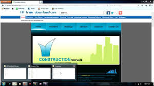 templates for asp net web pages creating a website from template using visual studio youtube